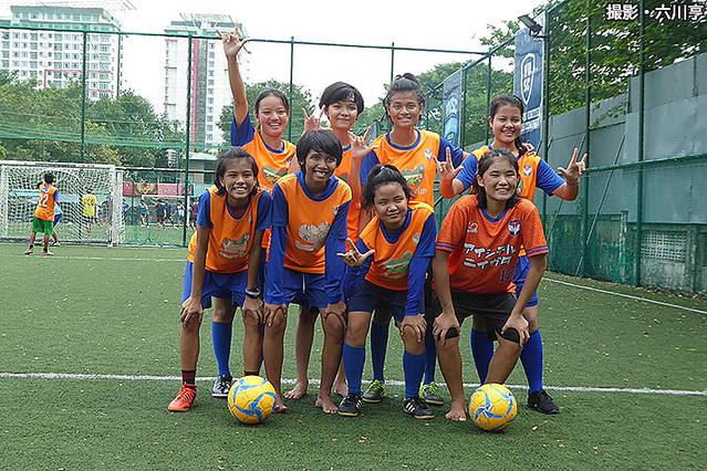 မြန်မာနိုင်ငံမှာ deaf soccer နည်းပြအဖြစ် သင်ကြားပေးနေတဲ့ ဂျပန်လူမျိုး