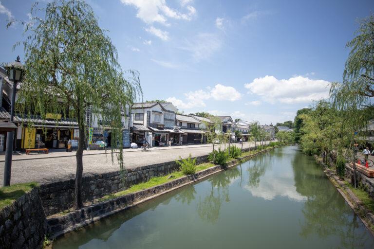 Okayama ခရီးသွားမိတ်ဆက် (အပိုင်း ၁) Kurashiki Bikan ဒေသ !!!