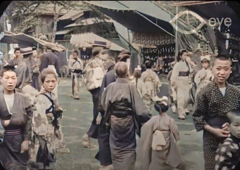 ၁၉၁၃ ခုနှစ်ရဲ့ တိုကျိုမြို့သို့ အလည်တစ်ခေါက်  !!!!
