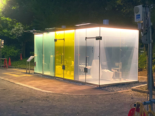 ဒီဇိုင်းအသစ် Public toilet !!!!
