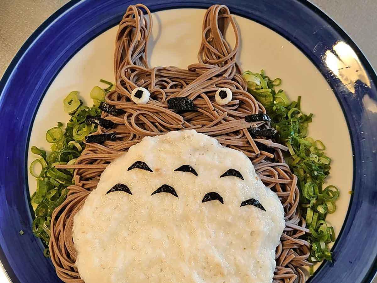 နေ့လည်စာအတွက် Totoro မီနူးအသစ် !!