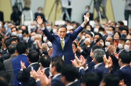 (14)ရက်နေ့၊ ဝန်ကြီးချုပ်ရွေးချယ်ပွဲတွင် မစ္စတာ Yoshihide Suga (၇၁ နှစ်) မဲအများဆုံးနှင့်အနိုင်ရရှိခဲ့ !!!!