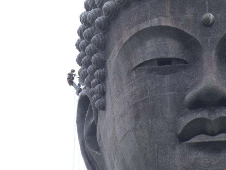 ဂျပန်နိုင်ငံရဲ့ အမြင့်ဆုံးရုပ်ပွားတော် Ushiku Daibutsu အား ရေသက်ပါယ်ရန်စိန်ခေါ်မှု