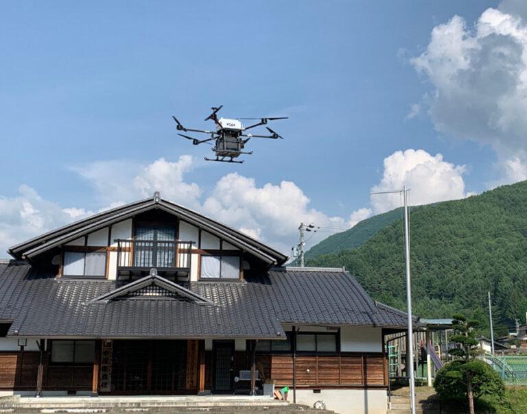 ဂျပန်ရဲ့ ရွာတစ်ရွာမှာ Drone delivery အစပြုနေပြီ။….