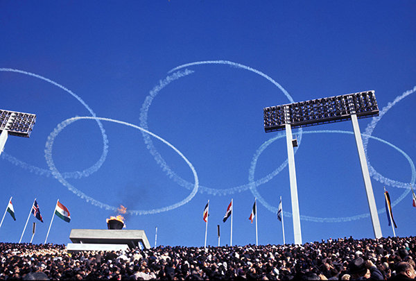 ၁၉၆၄ ခုနှစ်၊ ယခင်တစ်ခေါက်အိုလံပစ်ဟာ ဂျပန်ကိုပြောင်းလဲစေခဲ့တယ်။